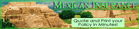 Mexican Insurance Banner